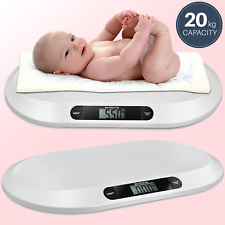 Baby Scales Electronic Digital Infant Pet Cat Weighing Scale 20kg 44lbs Weight