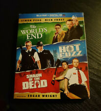 Shaun of the Dead, Hot Fuzz, Worlds End (Blu-ray, 3-Discs) Slipcase Edgar Wright