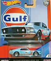 Hot Wheels Premium Car Culture - '69 Ford Mustang BOSS 302 - GULF