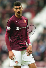 Bjorn Johnsen, Heart of Midlothian, Hearts, signed 12x8 inch photo. COA.