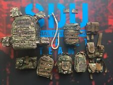 DAMTOYS SDU Assault Team Leader FLPC Vest & Pouches loose 1/6th scale