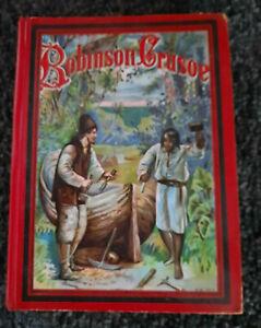 Robinson Crusoe nach Joachim Heinrich Campe, Farbdruckbilder Verlag Weichert