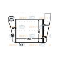HELLA 8ML 376 776-081 Ladeluftkühler BEHR HELLA SERVICE   für Audi A4 Avant