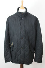 BARBOUR Black Quilted Jacket Size XL