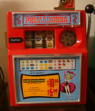 ANTIQUE VINTAGE PACE PRIMADONNA 5 CENT 27 WAY SLOT MACHINE 1960s