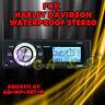 AQUATIC AV AQ-MP-5BT-H BLUETOOTH FOR HARLEY-DAVIDSON REPLACEMET RADIO FITS 98-13