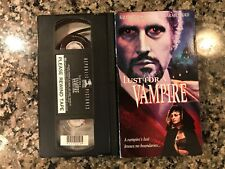 Lust For A Vampire Vhs! 1971 Erotic Horror! Virgin Witch May The Craft