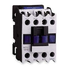 Lot of 10 Dayton IEC Contactor Contactors - Model 2UXK8 - 24 Vac, 18A, 3P NEW