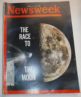 Newsweek Magazine Race To The Moon WITH ML March 1962 100316R