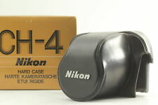 [Exc+5]  Nikon CH-4 Black Leather Case for Nikon F2(eye level) From JAPAN #329
