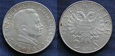 MONETA COIN AUSTRIA REPUBLIK ÖSTERREICH 2 SCHILLING 1934 ARGENTO SILVER  #5