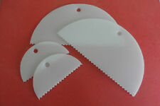 Adhesive Spreader. Pack of 4 (2 x large, 2 x small)  plastic glue spreader