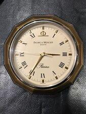 Baume & Mercier Riviera Vintage Desk Clock - Orologio da tavolo Originale Quartz