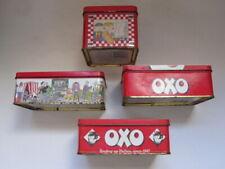 4 x collectable OXO tins