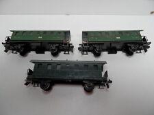 Trix Express - HO - 3tlg.Konvolut - Personenwagen - 2. u. 3.Klasse - bespielt