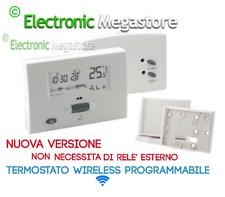 CRONOTERMOSTATO WIRELESS DIGITALE SETTIMANALE CON DISPLAY LCD