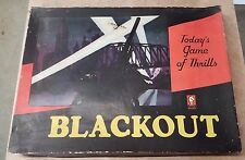 1939 WWII MILTON BRADLEY BLACKOUT 4041 COMPLETE RARE WAR BOARD GAME MAY BE BEST