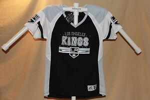 Los Angeles Kings  NHL Fan Fashion JERSEY/Shirt  MAJESTIC  Womens Small  NWT $55