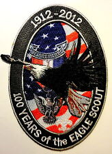Boy Scouts of America Eagle Scout Centennial Jacket Patch