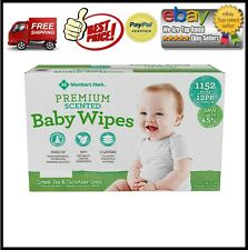 Member's Mark Premium Scented Baby Wipes (1152 ct.) *Best Deal And Servce