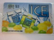 1995 Collectors Edition Alpen Ice $5 Phone card in original cello, free shipping