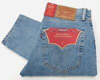 Levis Men's 512 Slim Taper Fit Warp Stretch Jeans In Coho Creek £85