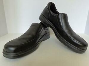 "Mens Naot ""Gary"" Black Slip On Comfort Shoe Size EU45R /US 12 NIB"