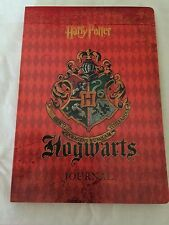 Harry Potter Hogwart's Crest School Journal Diary Blank Book, New, Free Shipping