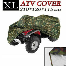 XL Waterproof ATV Camo Cover Universal For Polaris Yamaha Can-Am Honda FourTrax