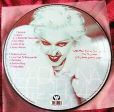 MADONNA VINYL BEDTIME STORIES PICTURE DISC 1ST PRESS RECORD PROMO FULL ALBUM LP