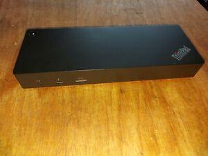 Lenovo 40AC Thinkpad Thunderbolt Docking Station Notebook Laptop ohne Netzteil