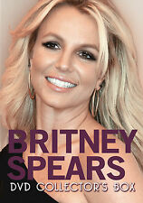 BRITNEY SPEARS New Sealed HISTORY, BIOGRAPHY & MORE 2 DVD BOXSET