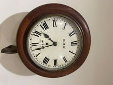 More details for b.r.(e) railway clock vintage origanal rare
