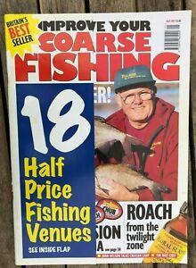 Improve Your Coarse Fishing magazine - May 1997 (Jan Porter, Crucian Carp Roach)