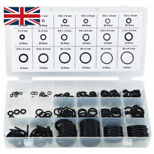 225 Pcs Rubber O Ring Oring Seal Plumbing Garage Sealing Assort Set Kit