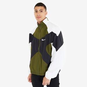 Nike Sportswear 1996 Archive Woven Men Jacket Green Black Size Large BV5210-331