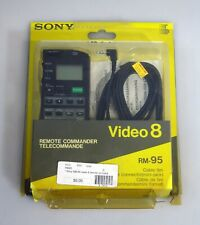 Sony Video 8 RM-95 Remote Commander