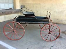 Antique JH Rogers carriage company Horse buggy Van Tussel And Kearney