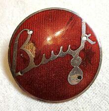 Original Buick 8 Enamel Radiator Grille Trunk Badge Emblem Partial 1936 Fox