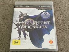 White Knight Chronicles (Sony PlayStation 3, 2010) PS3 - FREE POST