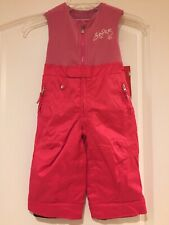 "SPYDER Bitsy Tart Girls Snow Bib Pants, Sz.2, LENGTHENS by 2"", NWT"