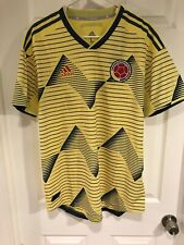 adidas Colombia 2019 Home Authentic Soccer Jersey Climachill DN6620 Size L