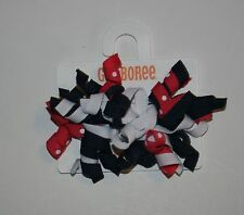 New Gymboree 2 Pk Curly Barrette Clips Hair Accessory NWT Best In Show Line