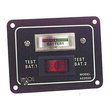 Cquip 10-10002 Interruptor Panel de prueba de batería de aluminio - 64mm X 83mm