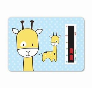 NEW! Baby Giraffe Room Thermometer - To help you maintain a safe temperature