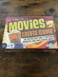 Outset Movies Trivia Game New Sealed