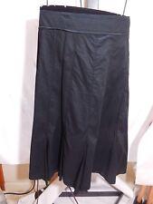B WOMANS BLACK GORED PANEL WASHABLE SKIRT MICHAEL KORS PLUS 20W $110