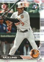 2019 Bowman Baseball #4 Cedric Mullins RC Baltimore Orioles