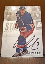 99-00 In the Game Kim Johnsson Be A Player Millennium Signature Series Auto #158