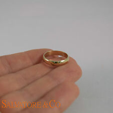 10K Yellow Gold Band Men's Ring Polished Wedding Band